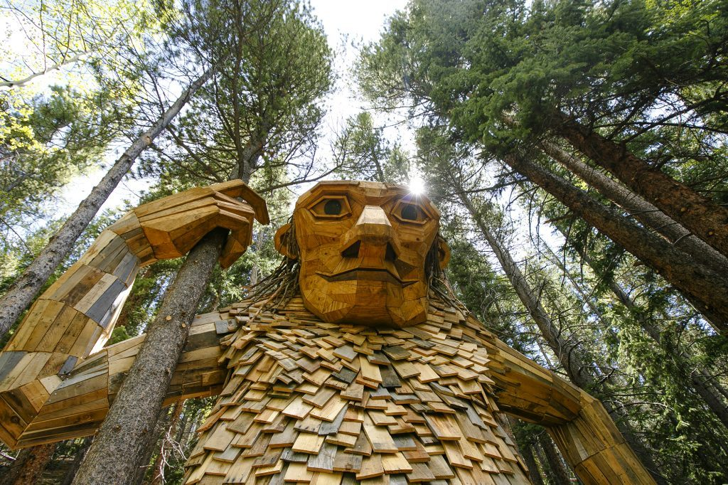 Breckenridge trail troll Isak Heartstone reopens with new look in new location