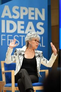 Aspen Ideas Festival: Resident artists Rita Moreno and Edmund de Waal on their lives and work