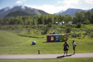 Aspen Ideas ends on high note with Jon Batiste leading jam session with music school students