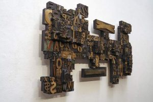 Lloyd Schermer opens type sculpture exhibition at Anderson Ranch Arts Center