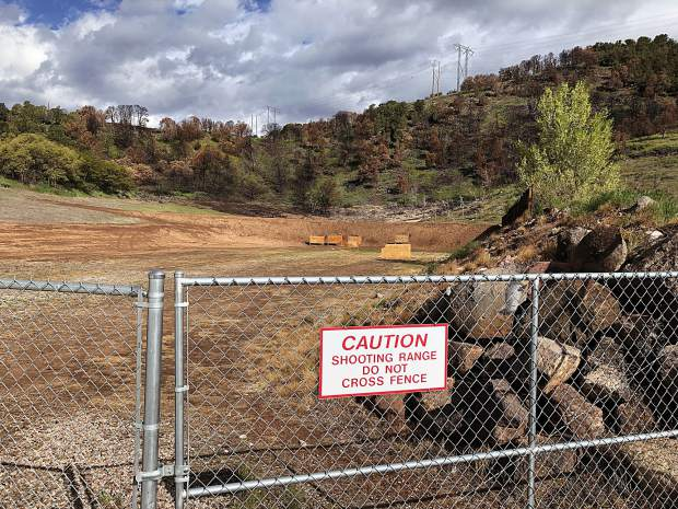 The rifle range at the Basalt shooting range will get further safety enhancements this summer, including asphalt base and a greenbelt behind and aside the berm.