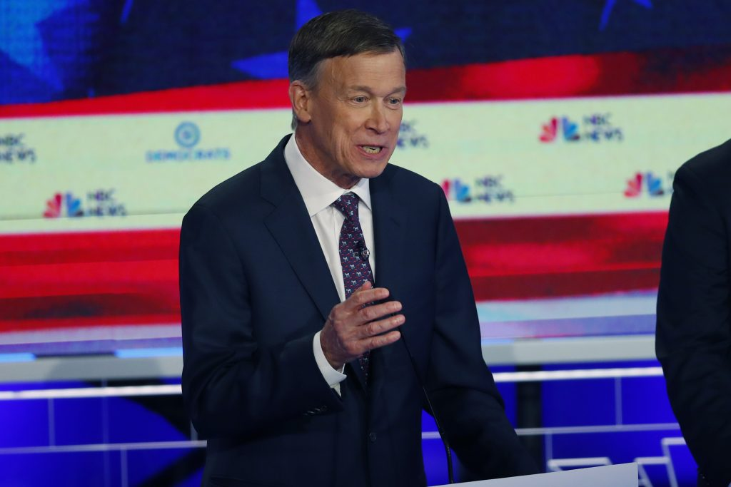 John Hickenlooper urged to swap White House bid for Senate run