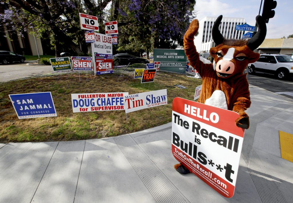 In states like Colorado, GOP sees the recall as its way back to power