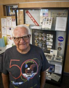 Rifle resident, former Kennedy Space Center engineer Tom Collins commemorates his space program career on 50th anniversary of Apollo 11