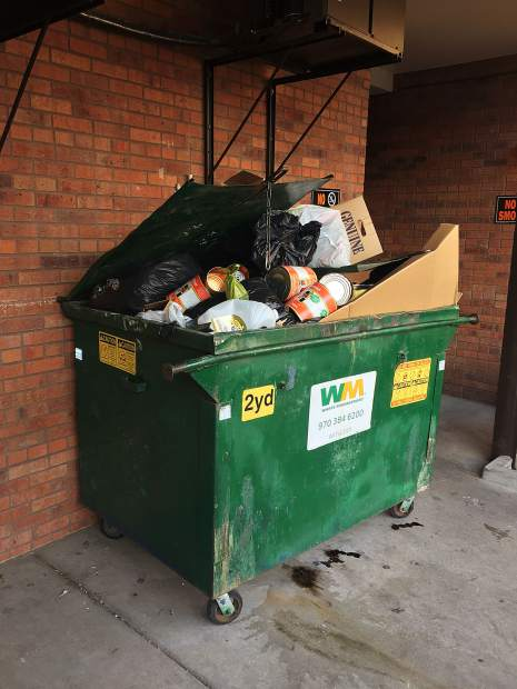 Leaving recycables unsecured is not a violation of the city's solid waste ordinance, but not rinsing the items can be an attractant for bears.