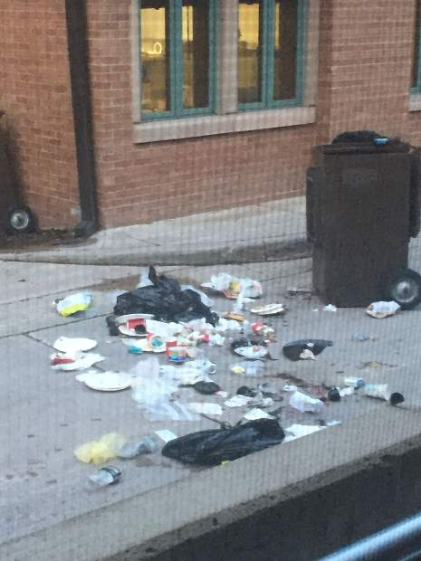 Bears have been getting in trash behind the Pitkin County Library for years until recently when government officials replaced unsecured cans with dumpsters that can only be unlocked with a key.