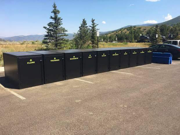 Aspen's $20K bike locker experiment has yet to gain traction