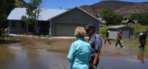 Flooding forces home evacuations in Gypsum