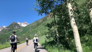 The Drop-In: E-biking to the Maroon Bells