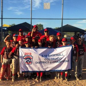 Three Rivers 8-10 boys baseball wins districts, hosts state at Crown Mountain
