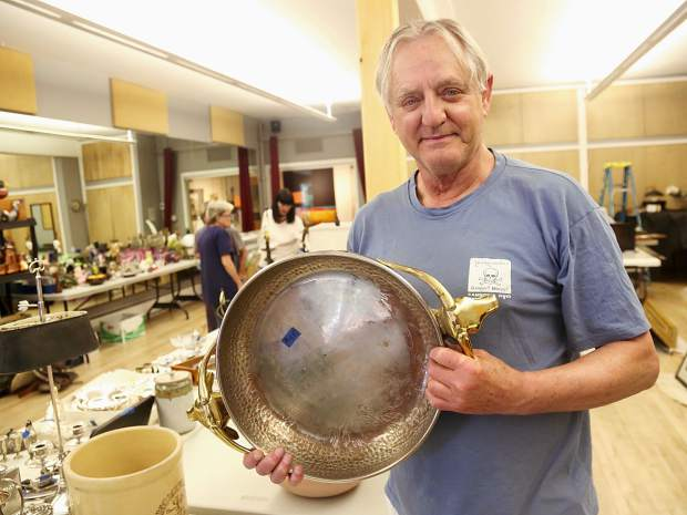 The Thrift Shop's annual art sale is a chance to buy art from local donors.