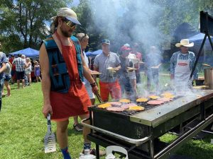 The Maples remain a constant at annual AVSC Fourth of July picnic