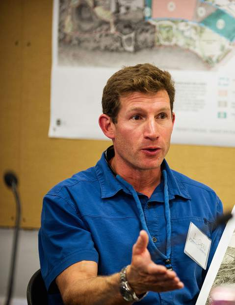 Basalt Councilman Auden Schendler proposed more aggressive action by the board on climate issues.