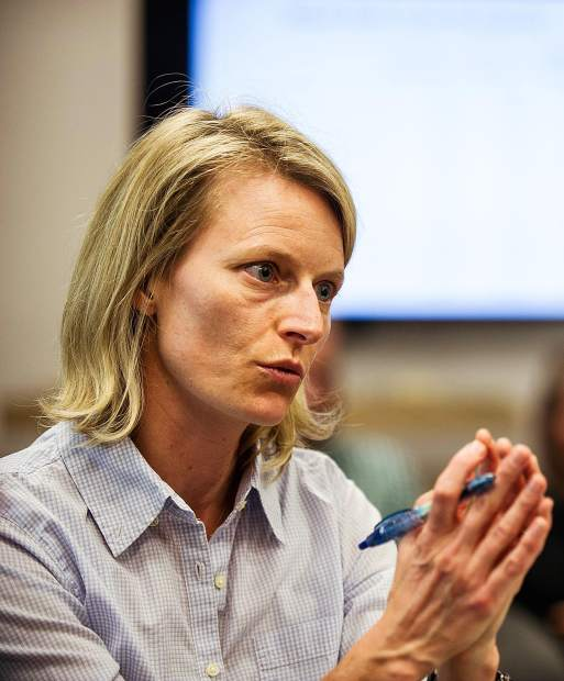 Basalt Councilwoman Katie Schwoerer proposed that the council endorse a declaration of climate emergency at its Aug. 13 meeting.