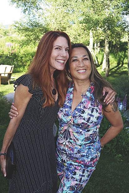 Celebrate the Beat's founder Tracy Straus with board member Coco Enrique-Bocobo.