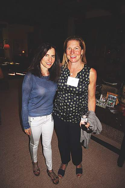 Hip moms Louisa Goldberg and Ali Phillips.