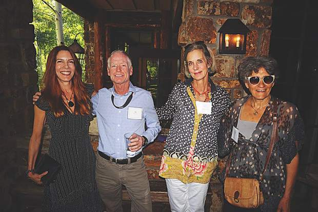 Tracy Strauss, Jim Gilchrist, Lynn Nichols and Dalia Vardy.