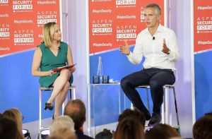 NATO's Jens Stoltenberg talks about alliance, Russia to open Aspen Security Forum