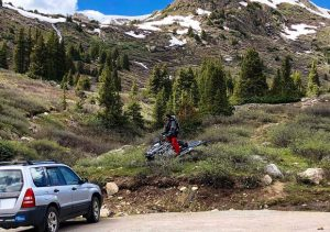 Ecologists' encounter with snowmobilers in Aspen wilderness on July 3 raises broader concern