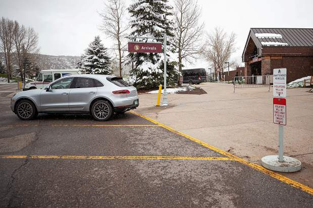 Curbside parking was eliminated at the Aspen-Pitkin County Airport by order of the TSA. That has forced some motorists into the parking lots and has reduced availability of spaces.