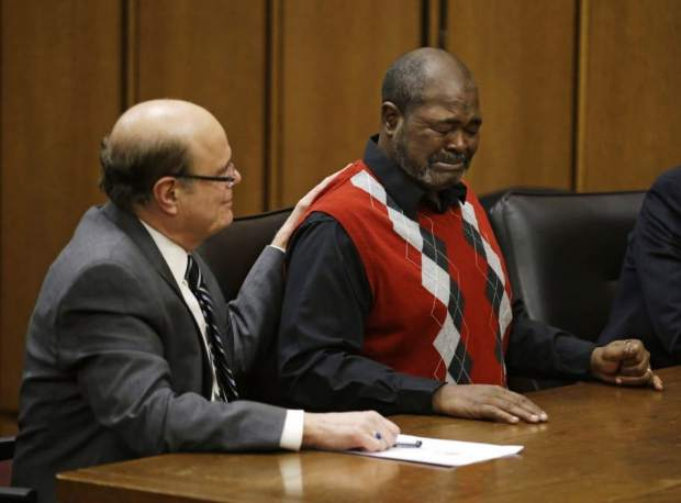 Kwame Ajamu was exonerated after 28 years in prison and 11 more years of working to clear his name.