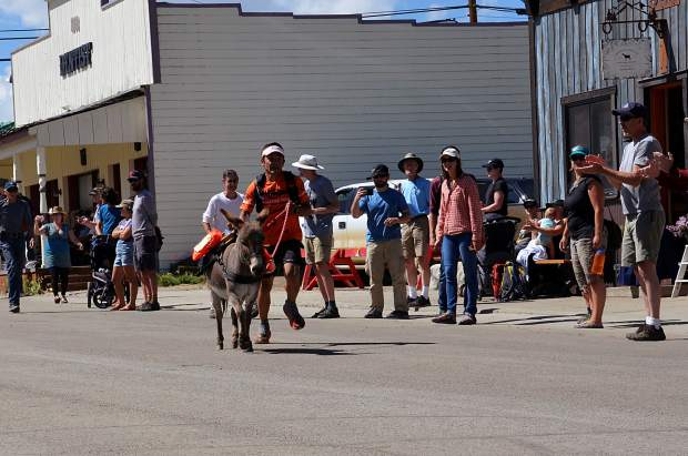 World Championship Pack Burro Race in Fairplay