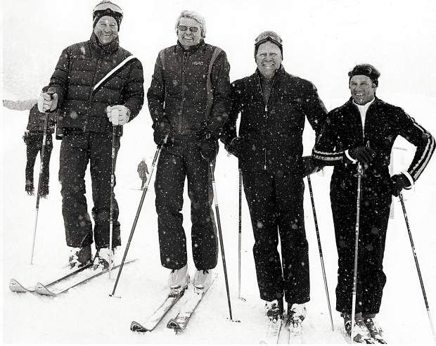 Pepi was President Gerald Ford's personal ski coach when the 38th president visited Vail.
