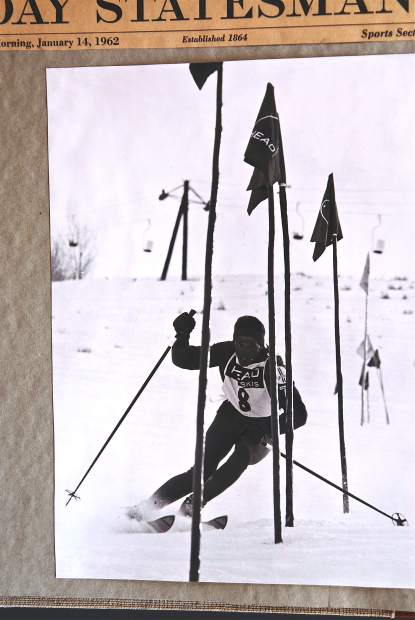 Pepi Gramshammer was a hotshot professional ski racer, carrying the Vail banner for the fledgling ski resort while he was on the pro tour.