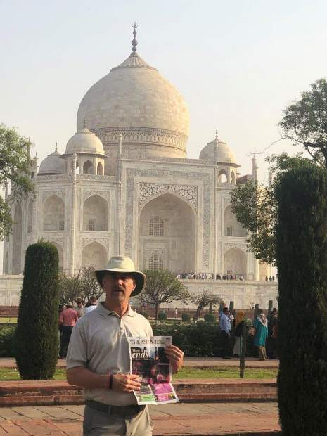 No, that's not the new Aspen Taj Mahal City Hall, but the actual Taj Mahal in Agra, India, where local architect Charles Cunniffe catches up on the news from Aspen.