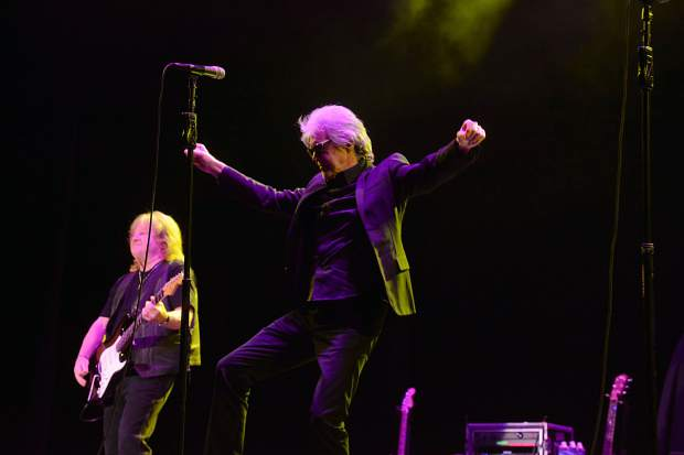 Three Dog Night lead singer Danny Hutton said the band is working on a new album, its first in decades, and testing out new material on the current tour.