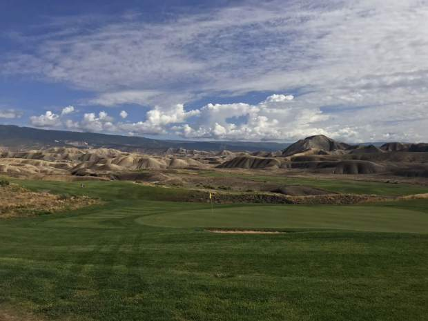The Basalt High boys golf team plays Thursday at Devil's Thumb Golf Course.
