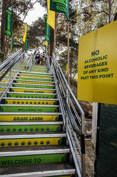 The stairway to heaven aka Grass Lands.