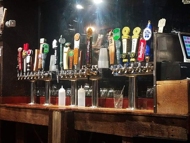 The 24 taps at Slow Groovin' in Snowmass offer a solid variety in the village.