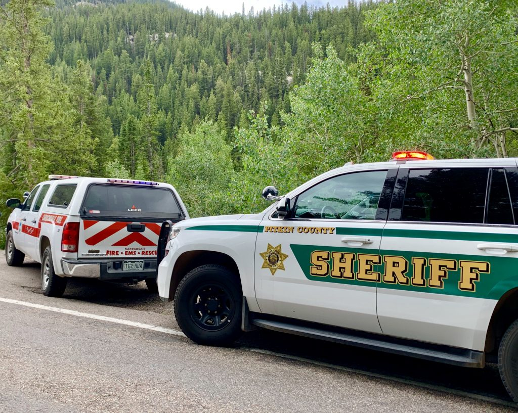 Search crews found the body Thursday morning of a missing teen who went into the Roaring Fork River on Wednesday near the Devils Punchbowl swimming area.