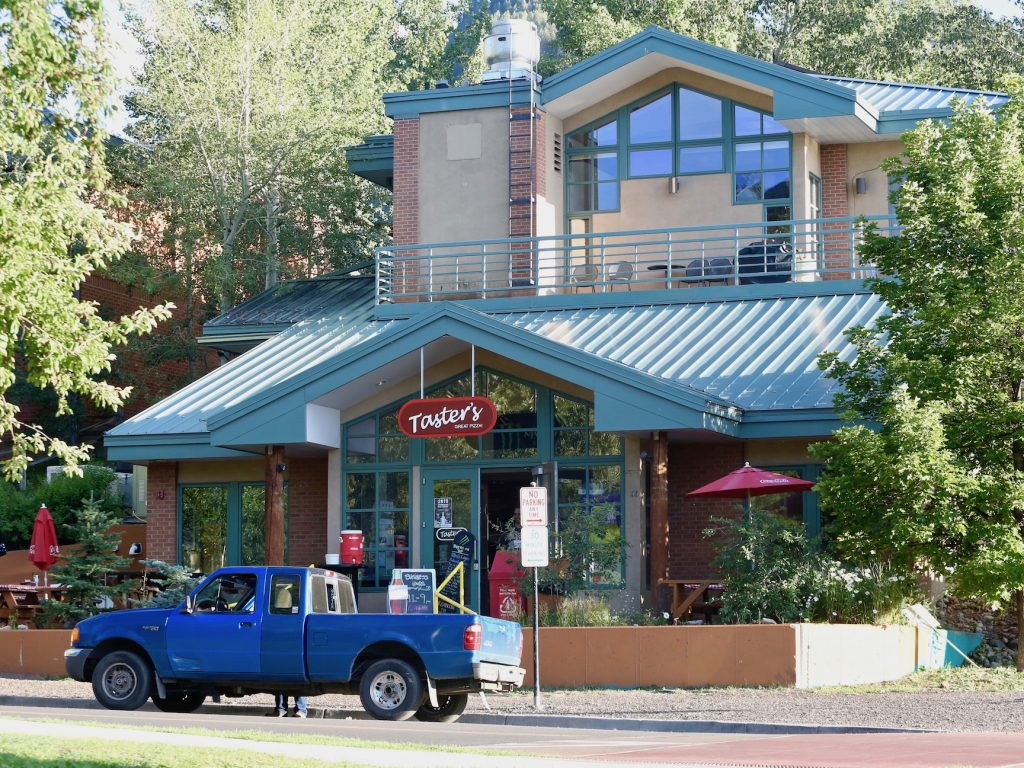 Taster's Pizza will have its last day of business in Aspen on Aug. 31. It has been at the Aspen location since March 2008.
