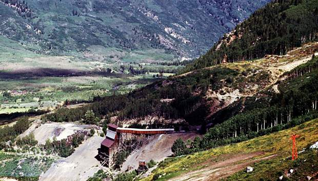 Willoughby: Veteran ore bin, the last mining structure removed from