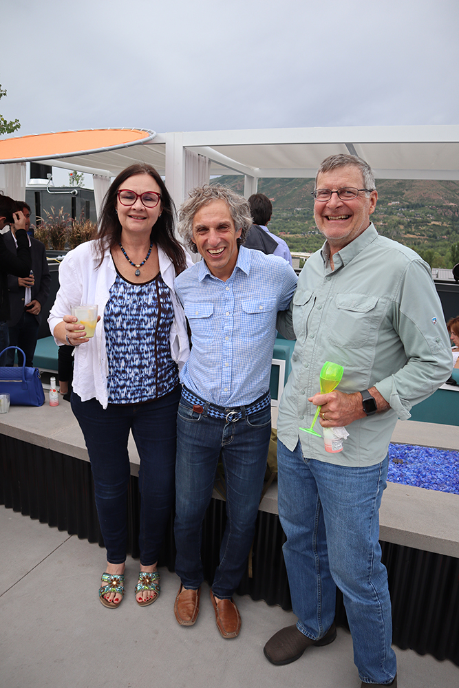 Aspen city councilwoman Rachel Richards, former Aspen mayor Steve Skadron and Aspen city councilman Ward Hauenstein.