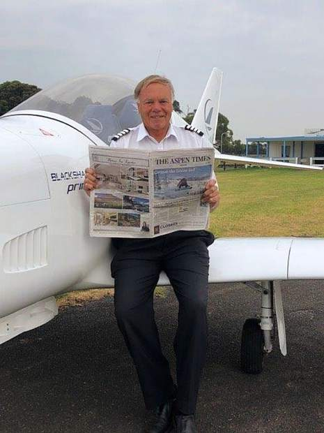 Ian Loveridge is a regular visitor to Aspen and spends four weeks a year here. Earlier this summer the Australian caught up with The Aspen Times at his flying school in Victoria.