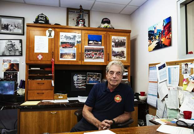 Aspen Fire Chief Rick Balentine declines to comment on the complaints leveled against him and says,