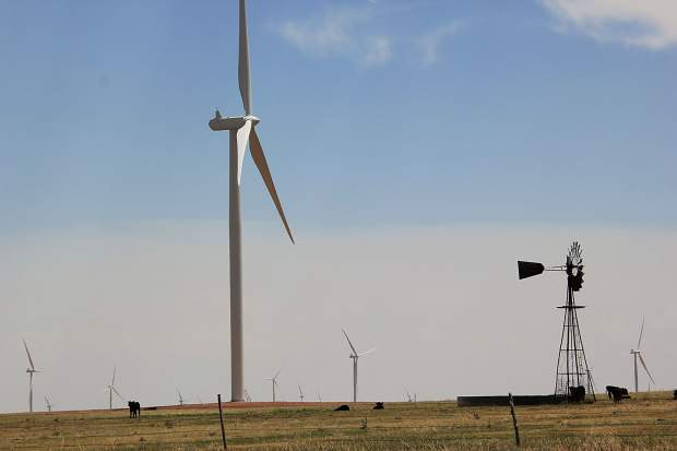 Xcel Energy's Rush Creek wind farm.
