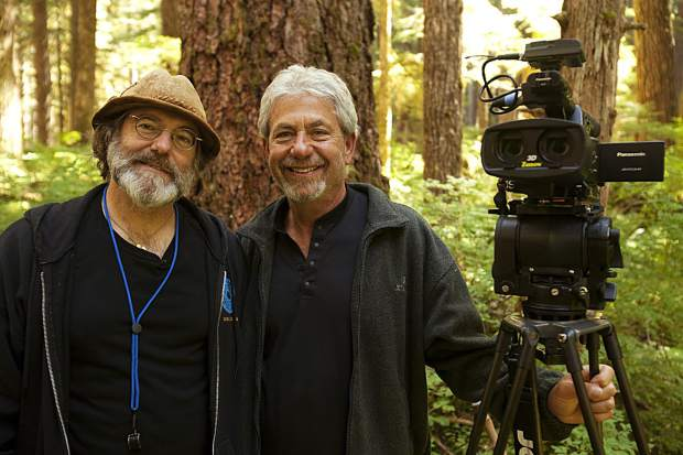 "chwartzberg with mycologist Paul Stamets, a subject of ""Fantastic Fungi."