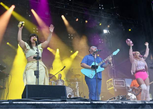 Turkuaz performs at the Jazz Aspen Snowmass Labor Day Experience on Sunday, Sept. 1, 2019, in Snowmass Village. (Photo by Austin Colbert/The Aspen Times)