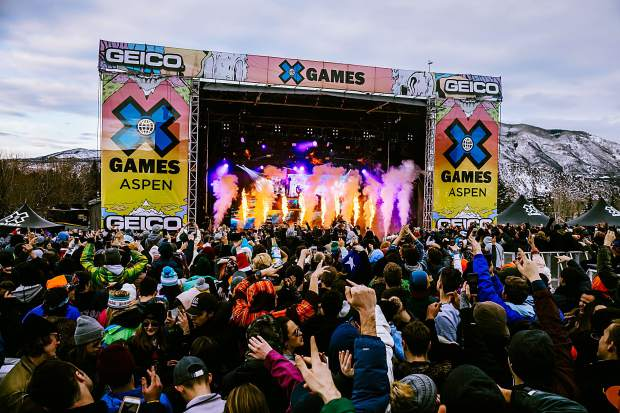 The music lineup at X Games 2020 will include Alesso, Rae Sremmurd, Illenium and Bazzi.