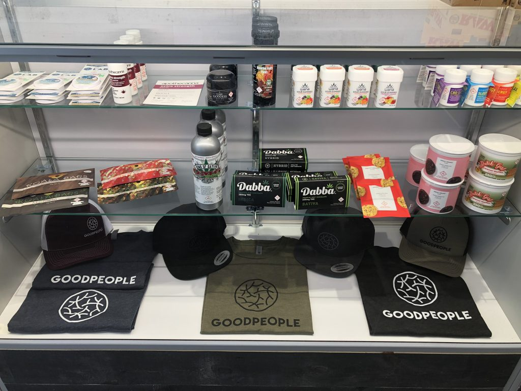 Goodpeople will expand into recreational sales on the second floor later this month.