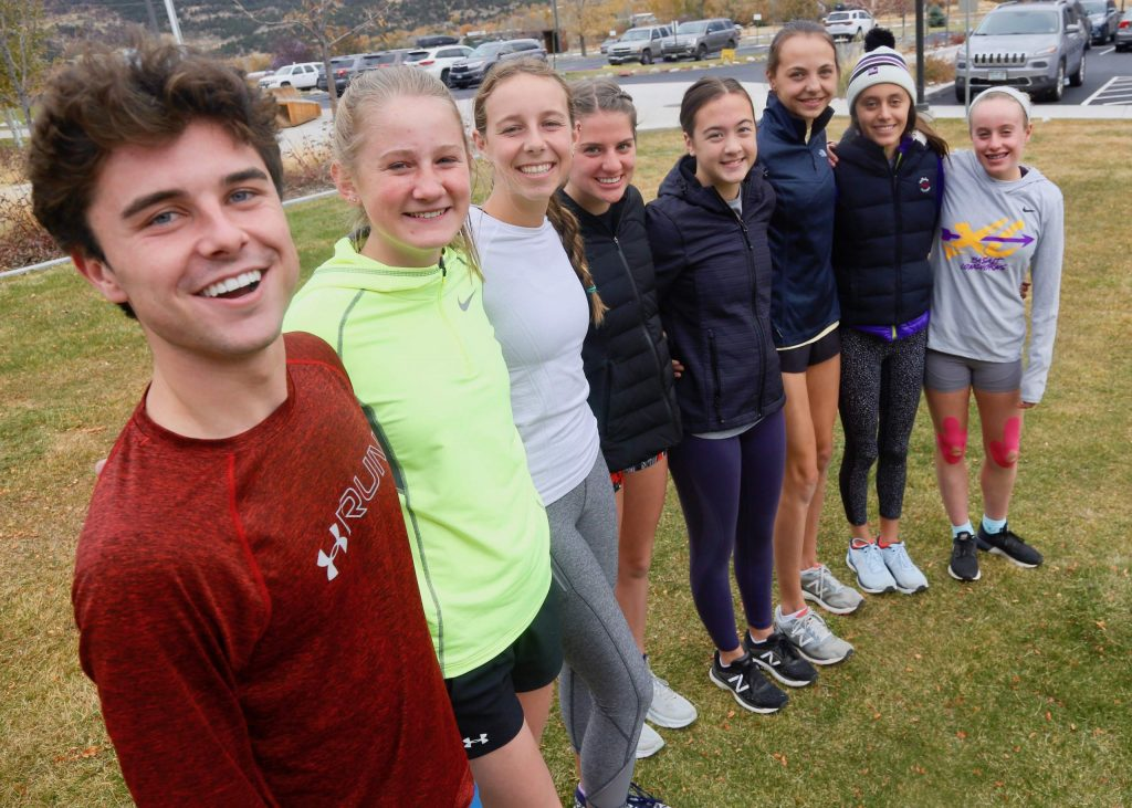The Basalt High School cross country team will compete at the state meet on Saturday in Colorado Springs. (Photo by Austin Colbert/The Aspen Times)