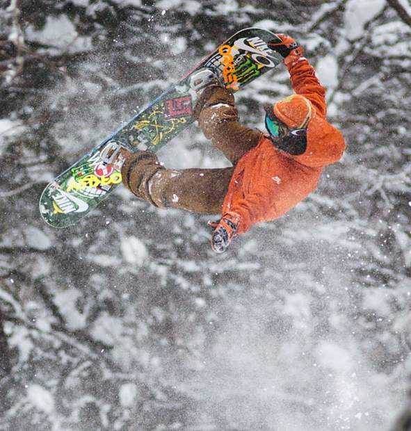 Danny Kass in 'Snowboarding: For me'