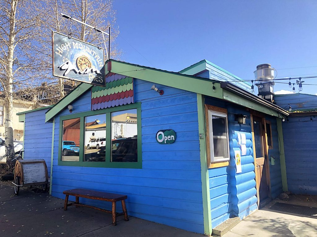 High Mountain Pies in Leadville