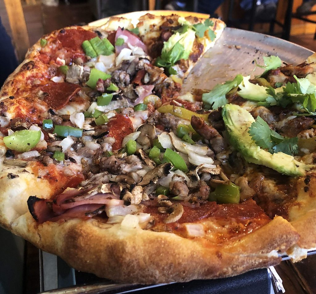 A pizza from High Mountain Pies in Leadville