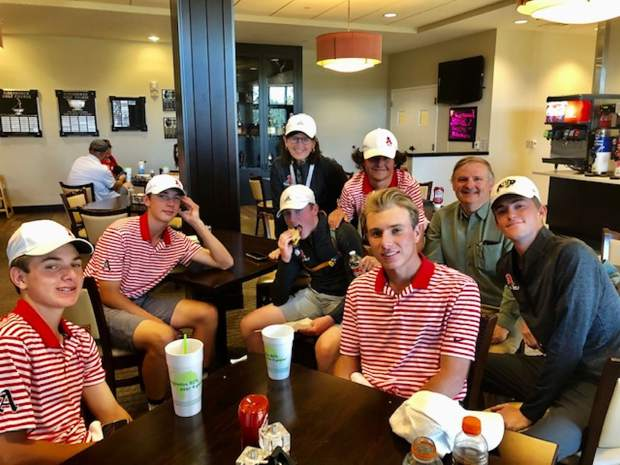 The Aspen High School boys golf team is competing Monday and Tuesday at the Class 3A state golf tournament in Colorado Springs.