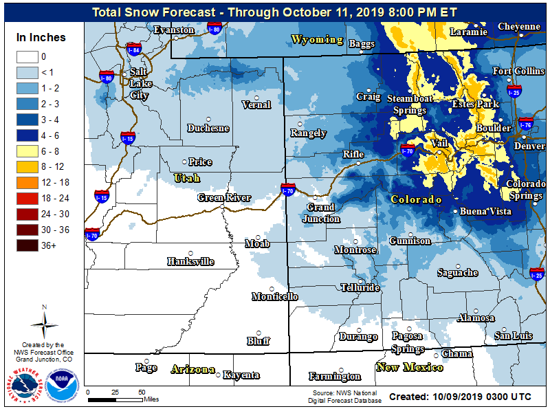 Blast of winter to hit Aspen area late Wednesday; expect a cold, snowy Thursday